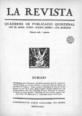 Any 09, núm. 175-176 (1-16 gen. 1923), Portada-p. 16
